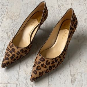 Cole Haan Air/Fiona Leopard print kitten heels  9